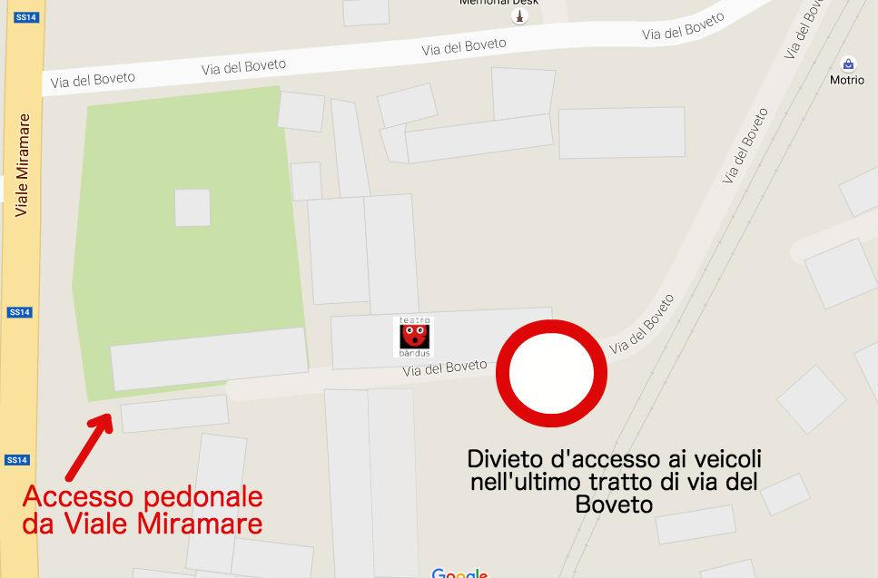 Dov'è la sede dei corsi di teatro del Teatrobandus