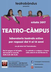 Centro estivo di teatro a Trieste