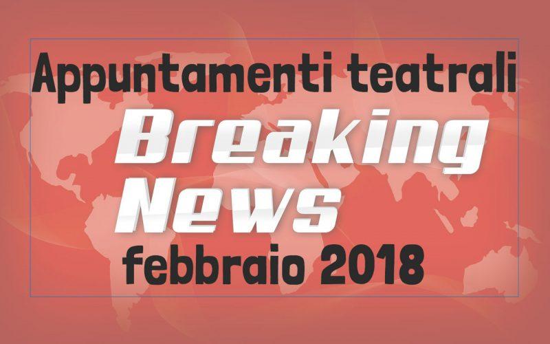 Eventi Teatro Bàndus Trieste febbraio 2018