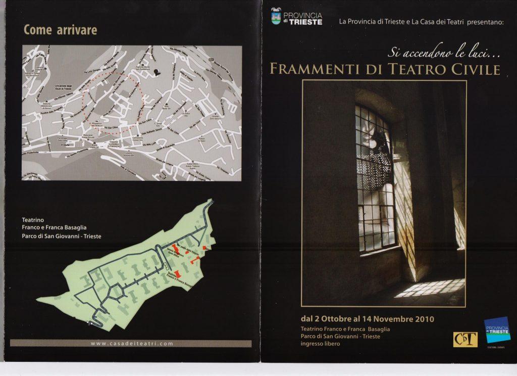 Teatro civile, rassegna Trieste 2010