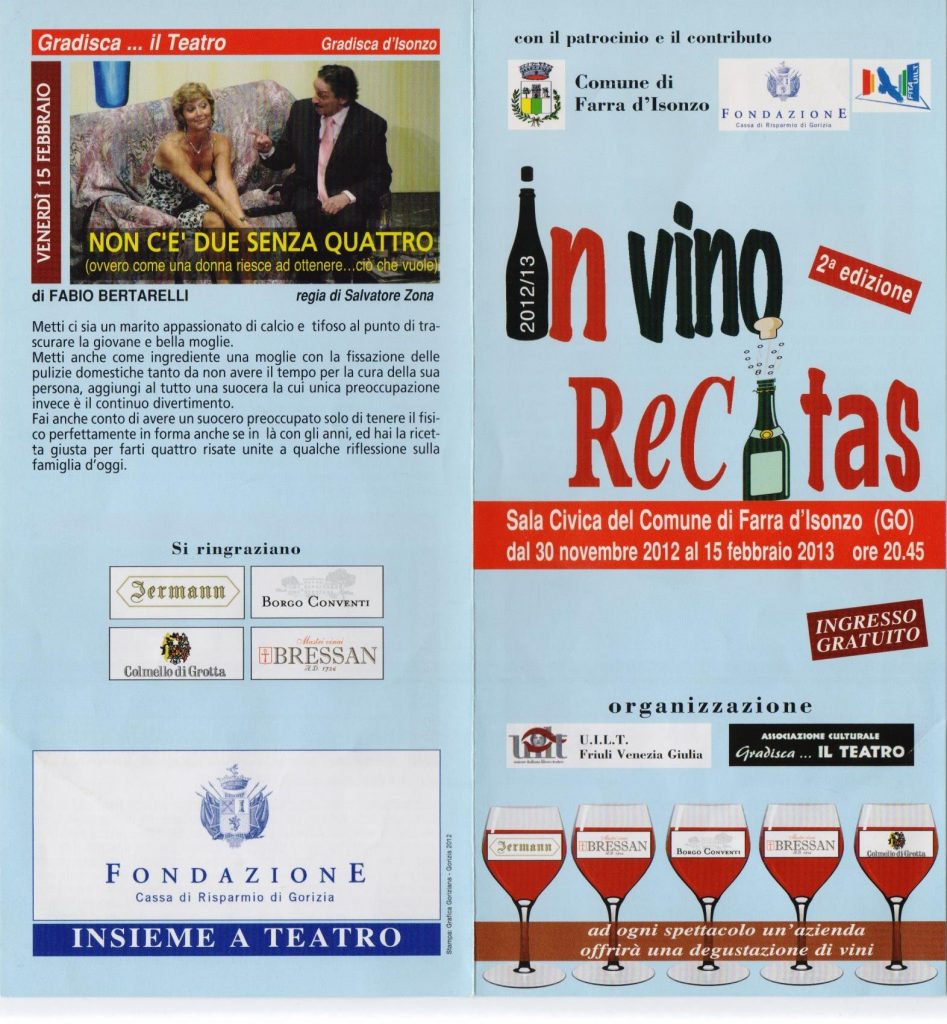 Suocera buonanima per In vino recitas 2013