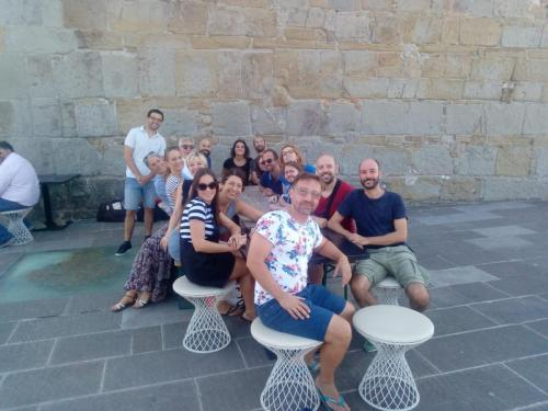 14 - insegnanti e allievi dei corsi di teatro