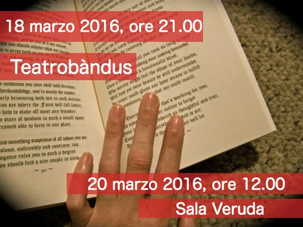Teatro a leggio in tutta Trieste