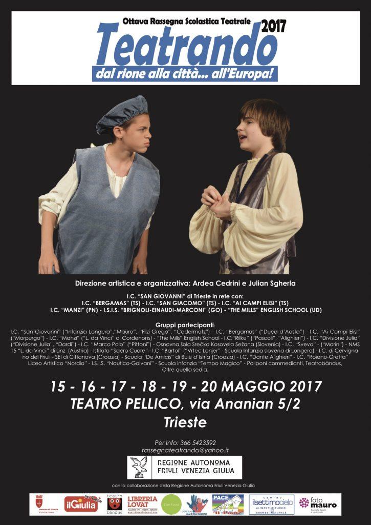 Rassegna teatrale Teatrando - Il Teatro delle scuole di Trieste
