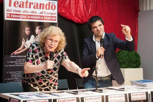 ARDEA CEDRINI E JULIAN SGHERLA, DIRETTORI ARTISTICI
