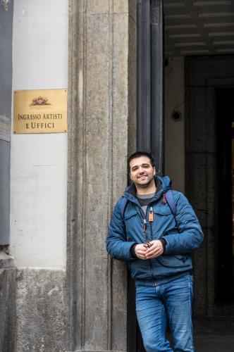 JULIAN INGRESSO ARTISTI TEATRO SAN CARLO